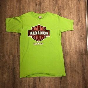 Harley Davidson vintage cut v neck DR shirt